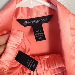 Victoria's Secret polyester pajama set- large